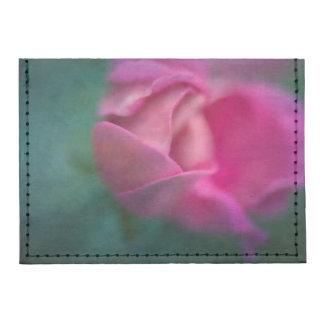 Vining Geranium Bud, Digitally Altered Tyvek® Card Wallet