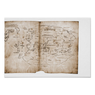 Vinland Map Poster