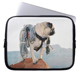 Vinny the Pug's Computer Bag Computer Sleeve
