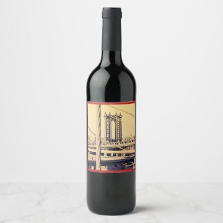 Vino anyone NY Edition Wine Label