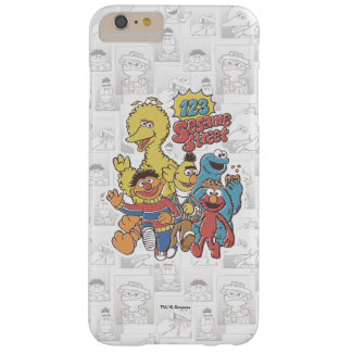 Vintage 123 Sesame Street Barely There iPhone 6 Plus Case
