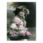 Vintage 12 postcard