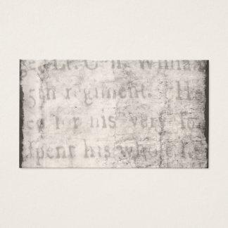 Vintage 1700s Black Gray Text Parchment Paper