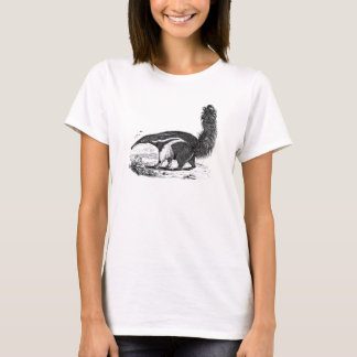 Vintage 1800s Aardvark Retro Ant Eater Template T-Shirt