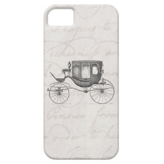 Vintage 1800s Carriage Horse Drawn Antique Buggy iPhone 5 Cover