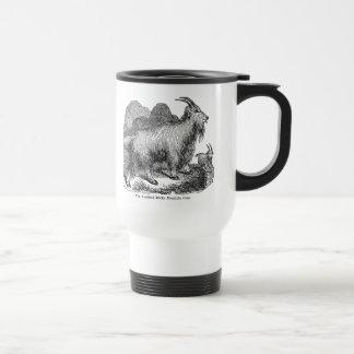 Vintage 1800s Goats American Rocky Mountain Goat Travel Mug