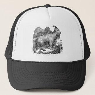 Vintage 1800s Goats American Rocky Mountain Goat Trucker Hat
