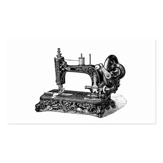 Vintage 1800s Sewing Machine Illustration Pack Of Standard Business Cards