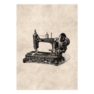 Vintage 1800s Sewing Machine Illustration Pack Of Chubby Business Cards