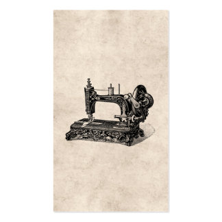 Vintage 1800s Sewing Machine Illustration Pack Of Standard Business Cards