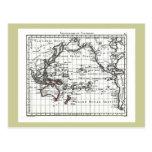 Vintage 1806 Map - Australasie et Polynesie