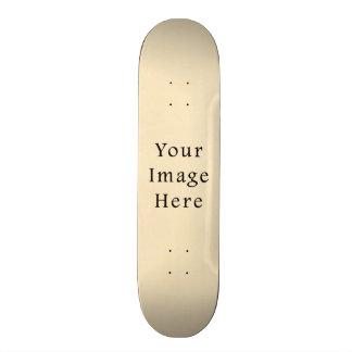 Vintage 1817 Cream Beige White Parchment Paper Skateboards