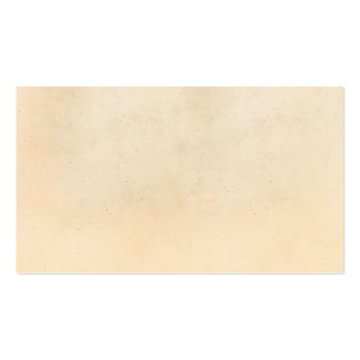 Vintage 1850 Parchment Paper Template Blank Pack Of Standard Business Cards