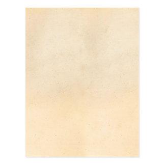 Vintage 1850 Parchment Paper Template Blank Postcard