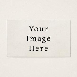 Vintage 1850s Light Parchment Paper Background Business Card