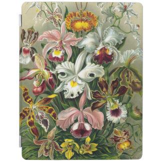 Vintage 1865 Botanical Orchids Illustration iPad Cover