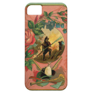 Vintage 1880's Fireman Firefighter Artwork iPhone 5 Cover