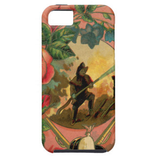 Vintage 1880's Fireman Firefighter Artwork iPhone 5 Covers
