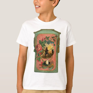 Vintage 1880's Fireman Firefighter Artwork T-Shirt