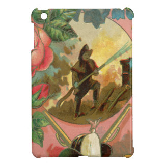Vintage 1880's Fireman Firefighter Cover iPad Mini Cases