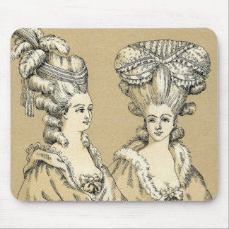 Vintage 1880s Paris France Esque Ladies Mousepad T
