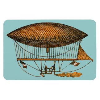Vintage 1883 Traveling Zeppelin Vinyl Magnet