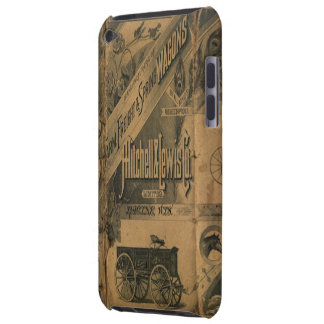 Vintage 1885 Collage Ads Case-Mate iPod Touch Barely There iPod Cover