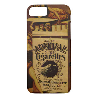 Vintage 1890 Smoking advert iphone  7 case