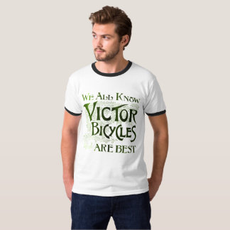 Vintage 1893 Victor Bicycles Are Best T-Shirt