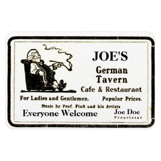 Vintage 1913 Tavern Advertisement Magnet