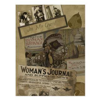 Vintage 1913 Women's Suffrage Postcard