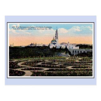 Vintage 1915 Panama California Expo San Diego 25 Postcard