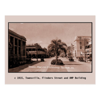 Vintage 1915 Townsville Queensland Postcard