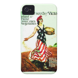 Vintage 1918 Patriotic Poster iPhone4 Case