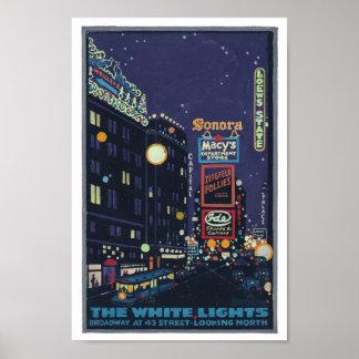 Vintage 1920 s Times Square Posterette Poster