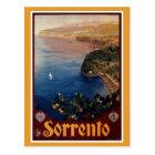 Vintage 1920s Sorrento Italian travel Postcard