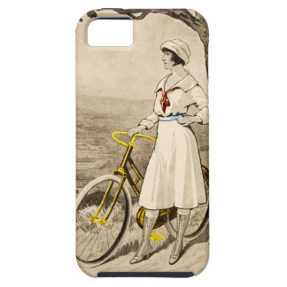 Vintage 1920s Woman Bicycle Advertisement iPhone 5 Case