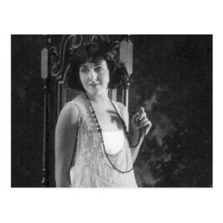 Vintage 1920s Women's Flapper Fashion Postcards