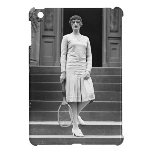 Vintage 1920s Women's Tennis Fashion Cover For The iPad Mini