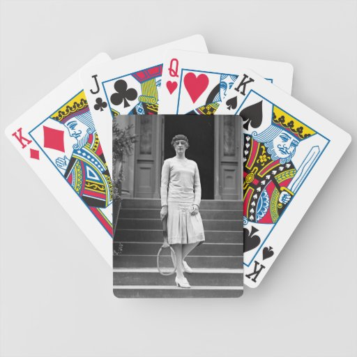 Vintage 1920s Women's Tennis Fashion Deck Of Cards