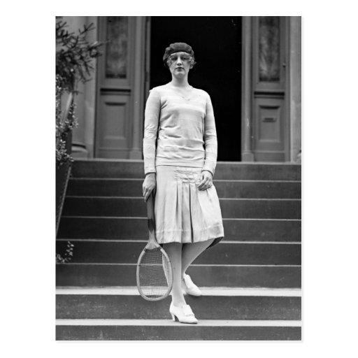 Vintage 1920s Women's Tennis Fashion Postcards