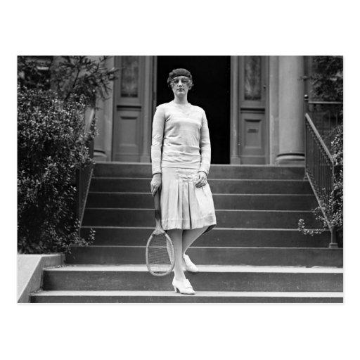 Vintage 1920s Women's Tennis Fashion Post Cards