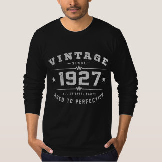 Vintage 1927 Birthday T-Shirt