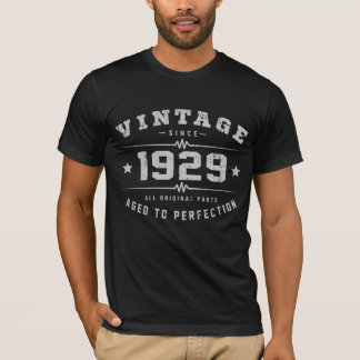 Vintage 1929 Birthday T-Shirt
