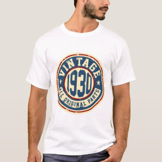 Vintage 1930 All Original Parts T-Shirt