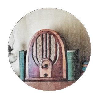 Vintage 1930s Radio Cutting Board