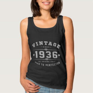Vintage 1936 Birthday Singlet