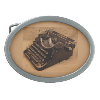 Vintage 1937 Underwood Typewriter Belt Buckle