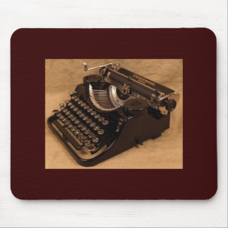 Vintage 1937 Underwood Typewriter Mousepad