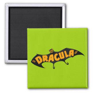 Vintage 1938 Dracula Vampire Bat Fridge Magnet